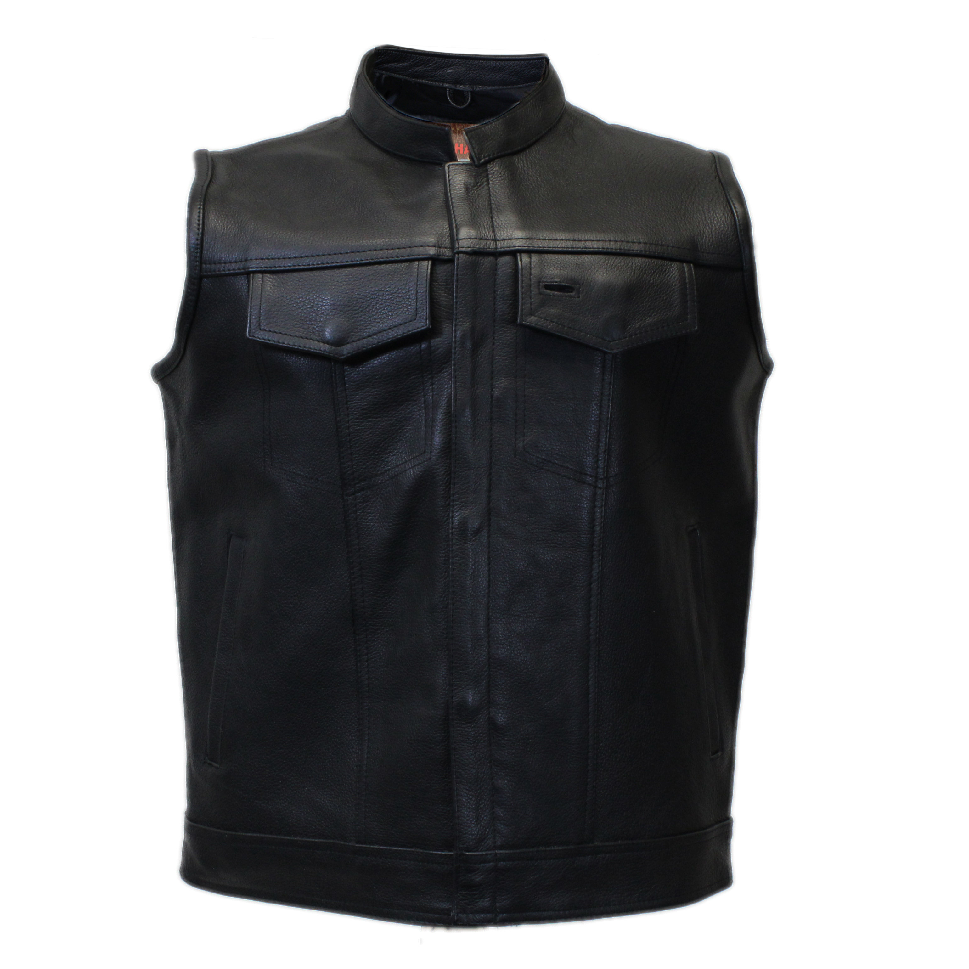 Motorcycle Leather Club Vest